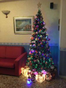 Albero di Natale in casa Selmi-Spaggiari