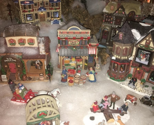 Particolare del Villaggio di Natale 2017