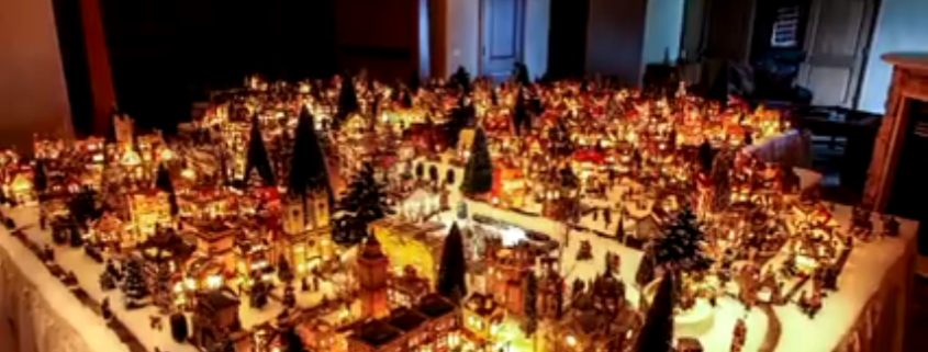 Un grande Villaggio di Natale