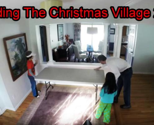 Famiglia costruisce il villaggio