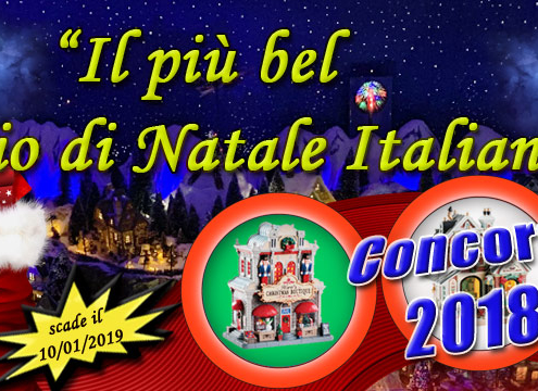concorso christmas village world 2018