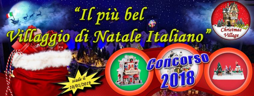 concorso christmas village world 2018