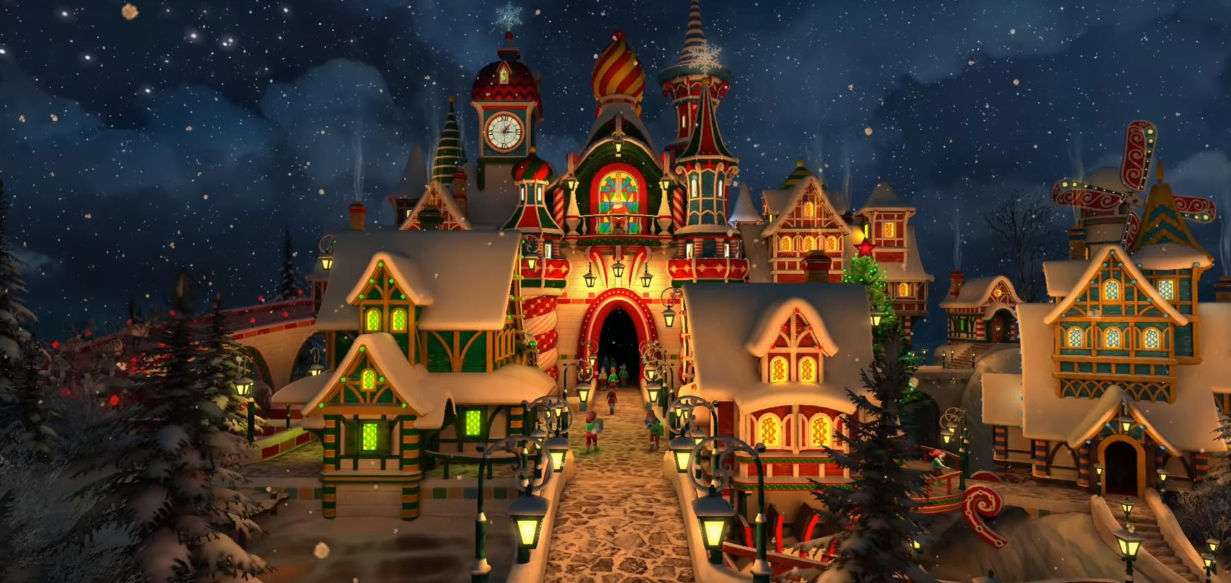 La Casa Di Babbo Natale Immagini.Abbiamo Trovato La Casa Di Babbo Natale Christmasvillageworld Com