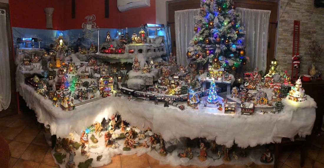 Villaggi Natale 2019.Il Meraviglioso Villaggio Di Babbo Natale Di Michele Rodella