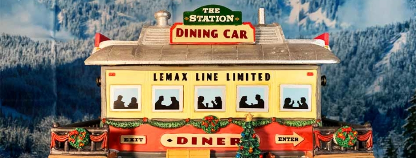 lemax the station dining car