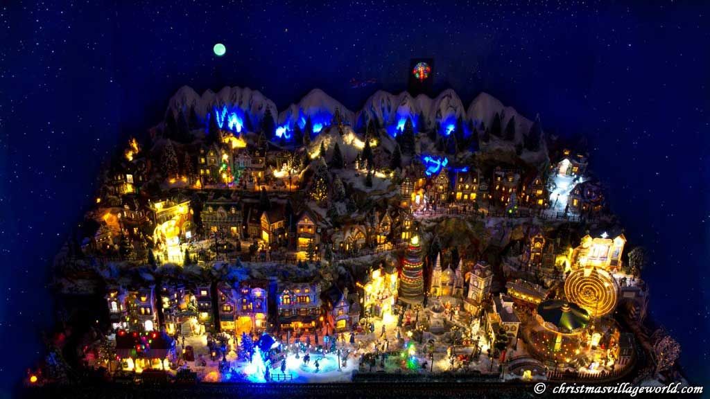 christmas village world