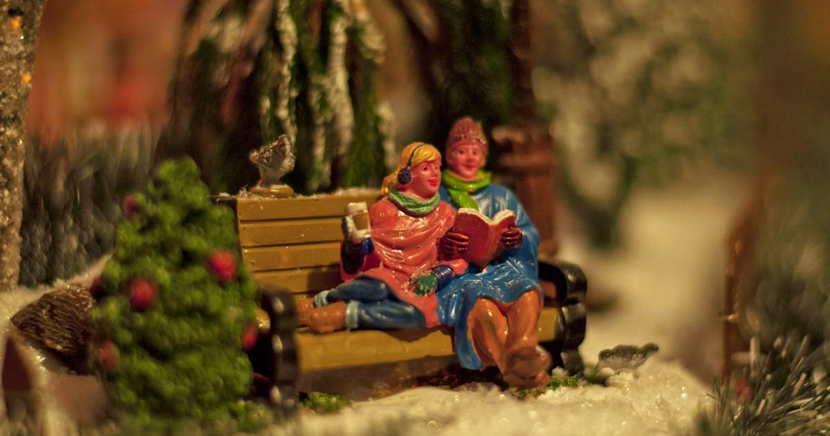 christmas village stories