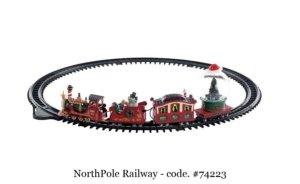 Lemax NorthPole Railway