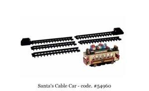 Lemax Santa's Cable Car