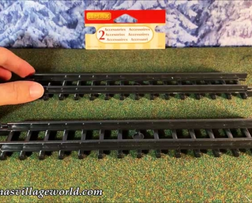 Straight-Curved Track For Christmas Express