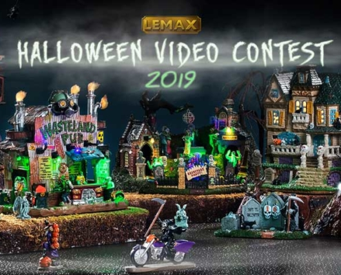 lemax spooky town