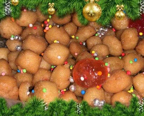 ricetta natalizia struffoli