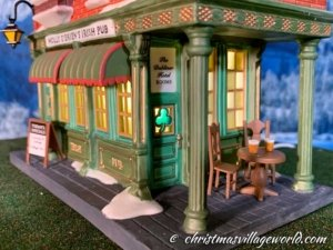 Particolare Department 56 Molly O'Brien's Irish Pub