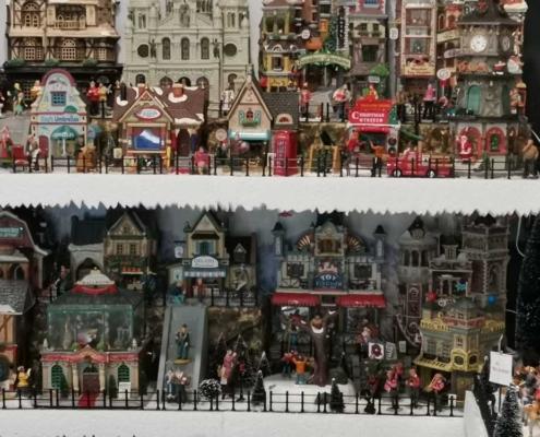 villaggio gelateria natalizia