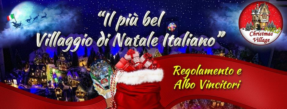 regolamento concorso natalizio
